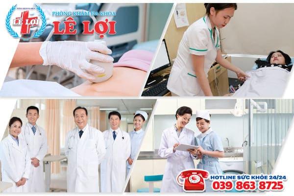 Đa Khoa Lê Lợi - địa chỉ phá thai an toàn tại Nghệ An