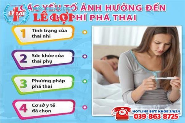 Chi phí phá thai ở Nam Đàn Nghệ An là bao nhiêu?