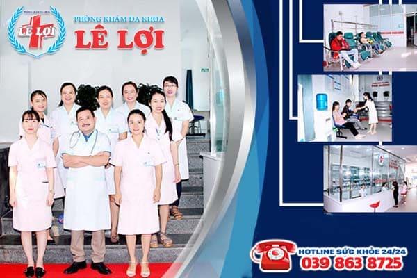 Đa Khoa Lê Lợi - Địa chỉ đình chỉ thai an toàn không đau tại TP Vinh Nghệ An