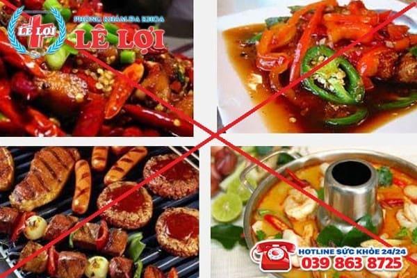 Trái ngược với thực phẩm tốt thì cần tránh thực phẩm gây hại