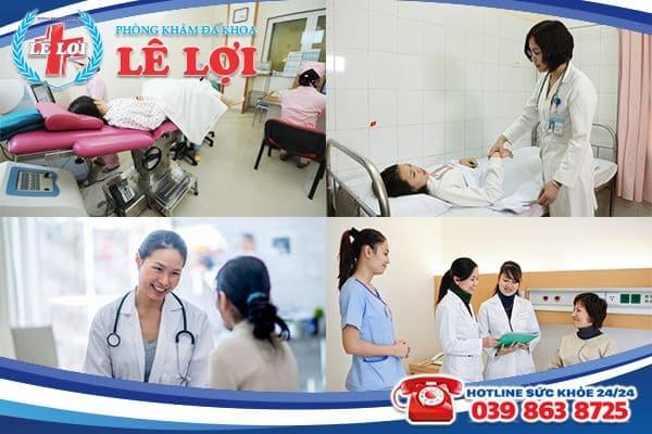 Phá thai an toàn chất lượng tại Đa Khoa Lê Lợi