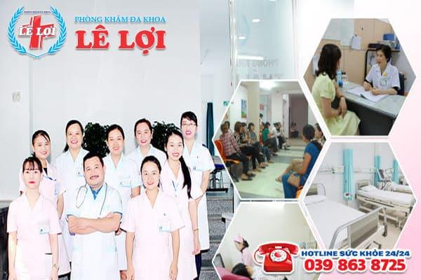 Phòng khám Lê Lợi - Địa chỉ nạo hút thai an toàn ở Nghệ An
