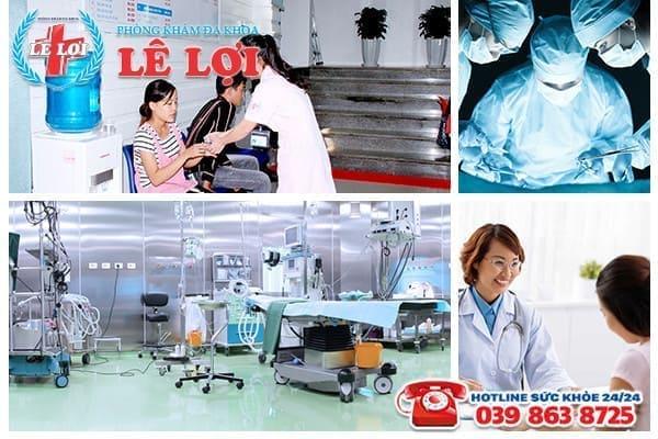 Phòng Khám Lê Lợi - Địa chỉ áp dụng các phương pháp phá thai an toàn hàng đầu tại Vinh