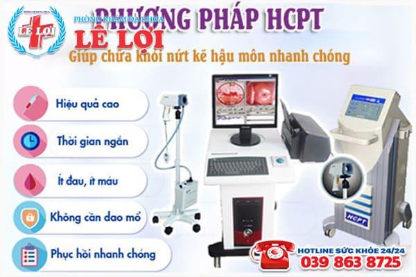 HCPT phương pháp ngoại khoa điều trị bệnh rò hậu môn hiệu quả