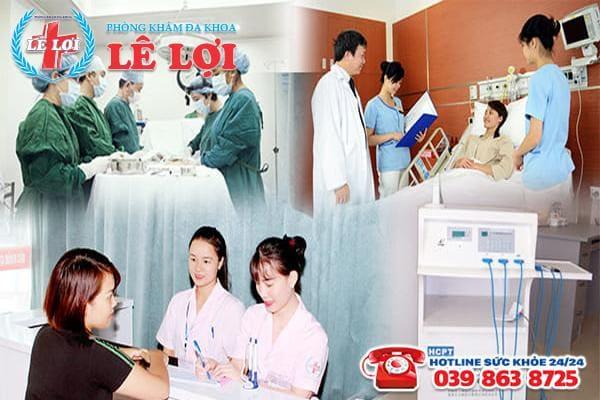 Đa Khoa Lê Lợi - địa chỉ điều trị trĩ nội uy tín