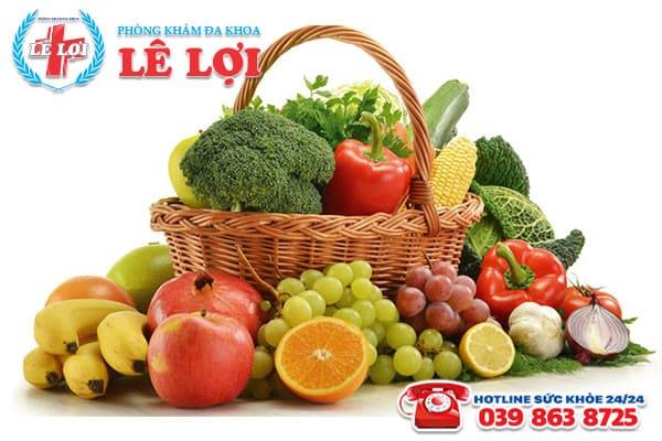 Ăn nhiều rau xanh để ngăn ngừa bệnh rò hậu môn