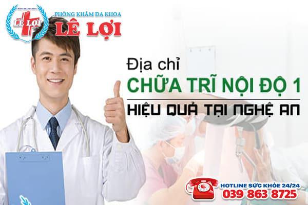 Địa chỉ chữa trĩ nội cấp độ 1 hiệu quả tại Nghệ An