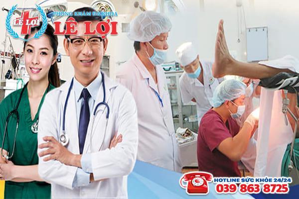 Đa Khoa Lê Lợi - địa chỉ phẫu thuật rò hậu môn uy tín