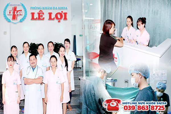 Phòng khám Lê Lợi - chuyên phẫu thuật nứt kẽ hậu môn ở Hà Tĩnh
