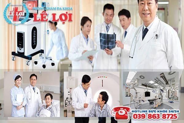 Phòng khám Lê Lợi - Đa khoa chuyên điều trị áp xe hậu môn