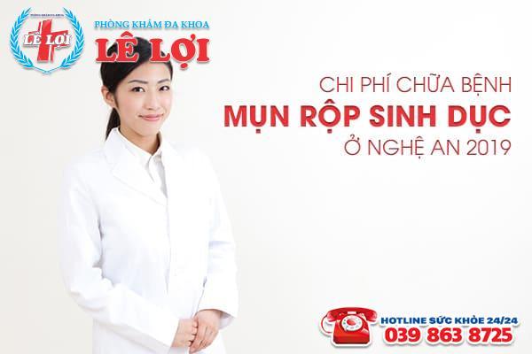 Chi phí chữa bệnh mụn rộp sinh dục ở Nghệ An 2019
