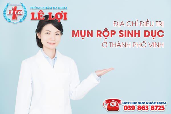 Địa chỉ điều trị mụn rộp sinh dục ở thành phố Vinh