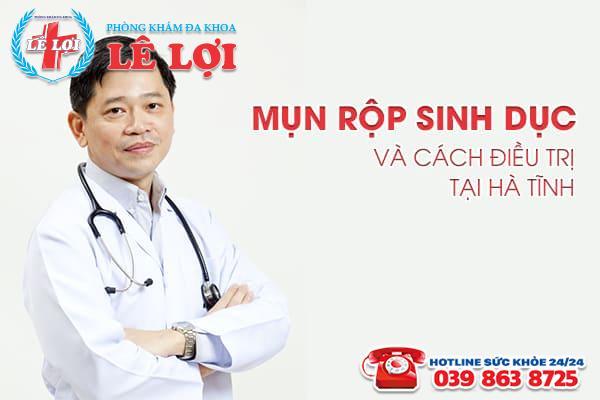 Mụn rộp sinh dục và cách điều trị tại Hà Tĩnh
