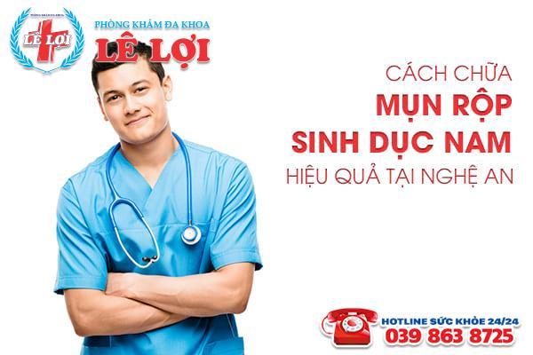 Cách chữa mụn rộp sinh dục nam hiệu quả tại Nghệ An