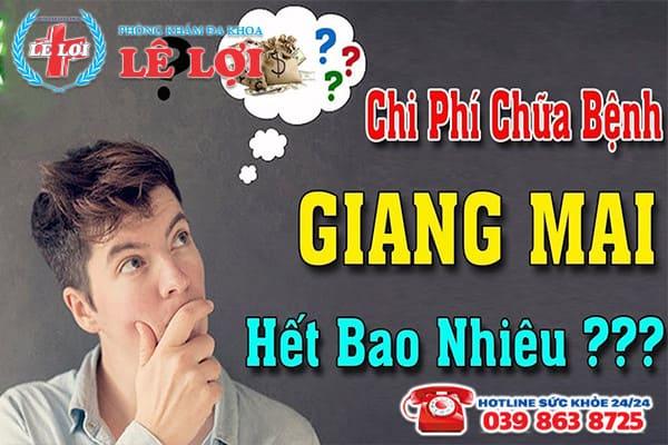 Chi phí chữa bệnh giang mai ở Nam Đàn Nghệ An là bao nhiêu?