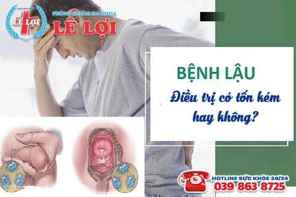 Chi phí chữa bệnh lậu ở Đô Lương Nghệ An là bao nhiêu?