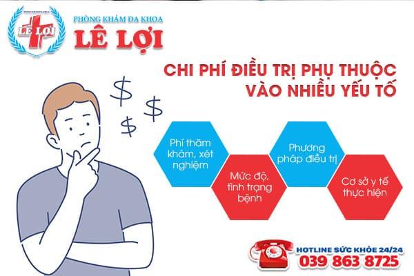 Chi phí chữa bệnh lậu ở Nam Đàn Nghệ An là bao nhiêu?
