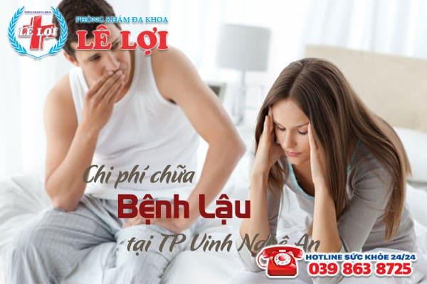 Chi phí chữa bệnh lậu ở TP Vinh Nghệ An có đắt không?