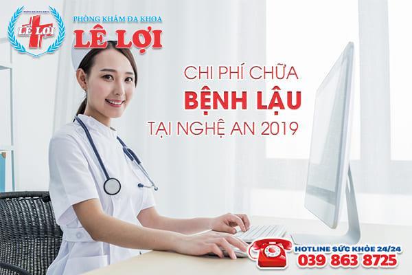 Chi phí chữa bệnh lậu tại Nghệ An 2019