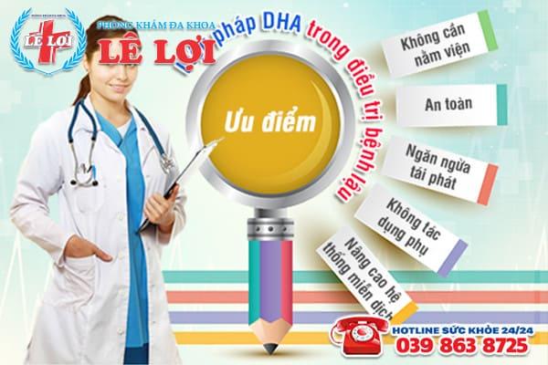 Hỗ trợ điều trị bệnh lậu bằng phương pháp DHA
