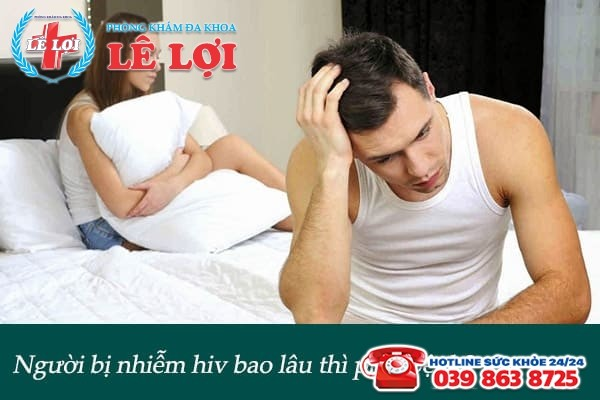 Người bị nhiễm hiv bao lâu thì phát bệnh?