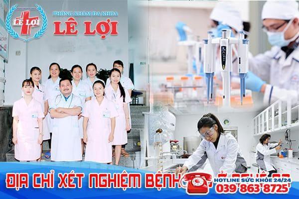 Phòng khám Lê Lợi - Địa chỉ xét nghiệm bệnh lậu ở Nghệ An