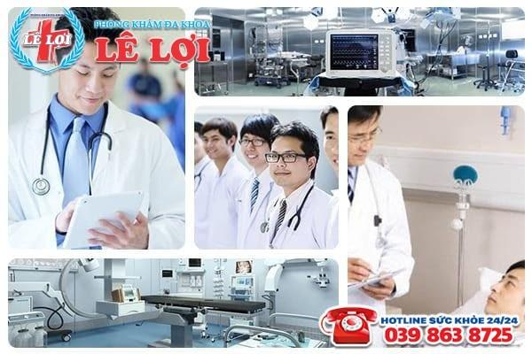 Đa Khoa Lê Lợi- địa chỉ hỗ trợ điều trị xuất tinh ra máu uy tín