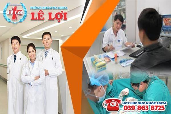 Đa Khoa Lê Lợi - bệnh viện thẫm mỹ dương vật uy tín