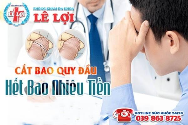 Chi phí cắt bao quy đầu ở Đô Lương Nghệ An là bao nhiêu?