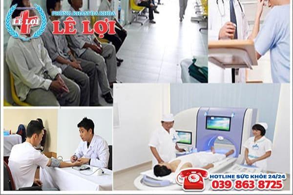Chi phí chữa bệnh viêm tuyến tiền liệt ở nam giới tại đa khoa Nghệ An