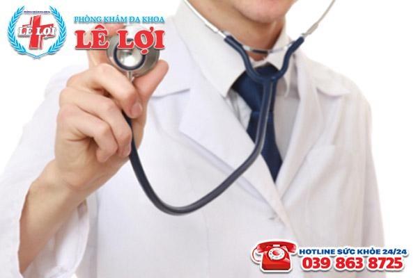 Đội ngũ bác sĩ thân thiện, tài giỏi sẽ giúp phái mạnh khắc phục bệnh hiệu quả