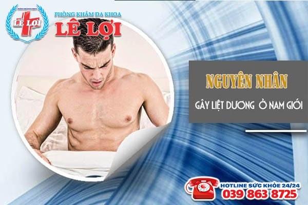Nguyên nhân gây nên chứng liệt dương ở nam giới