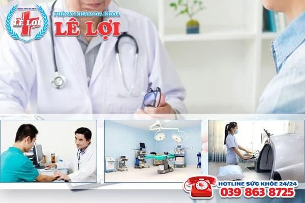 Khám bệnh liệt dương với mức phí hợp lý tại Đa Khoa Lê Lợi