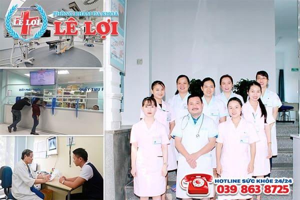 Đa Khoa Lê Lợi - địa chỉ khám và điều trị sưng đau tinh hoàn uy tín