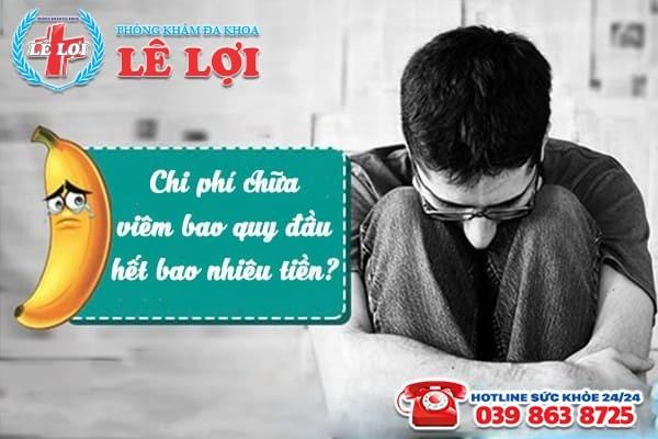 Chi phí chữa viêm bao quy đầu ở Đô Lương Nghệ An là bao nhiêu?