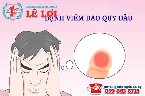 Bệnh viêm bao quy đầu ở nam giới