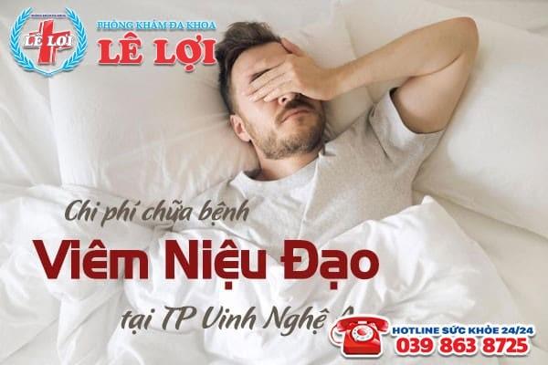 Chi phí chữa viêm niệu đạo tại TP Vinh Nghệ An