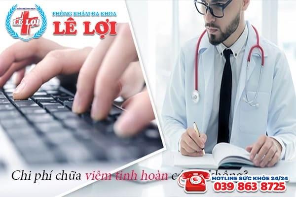 Chi phí chữa viêm tinh hoàn ở Đô Lương Nghệ An có đắt không?
