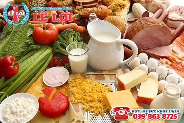 Xây dựng chế độ ăn uống hợp lý để bệnh nhanh khỏi