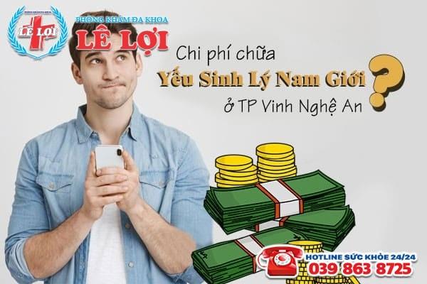 Chi phí chữa yếu sinh lý nam giới ở TP Vinh Nghệ An