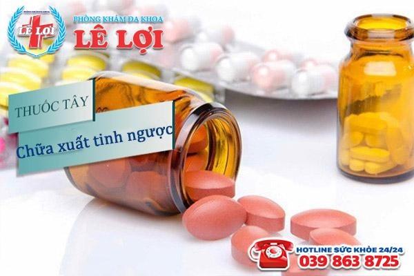 Hỗ trợ điều trị xuất tinh ngược bằng thuốc