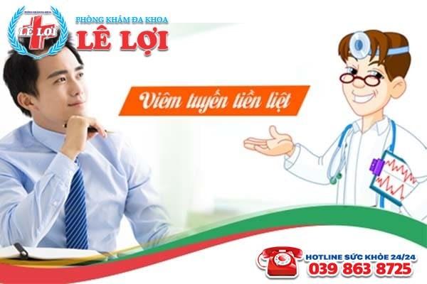 Địa chỉ chữa bệnh viêm tuyến tiền liệt tốt nhất TP Vinh Nghệ An