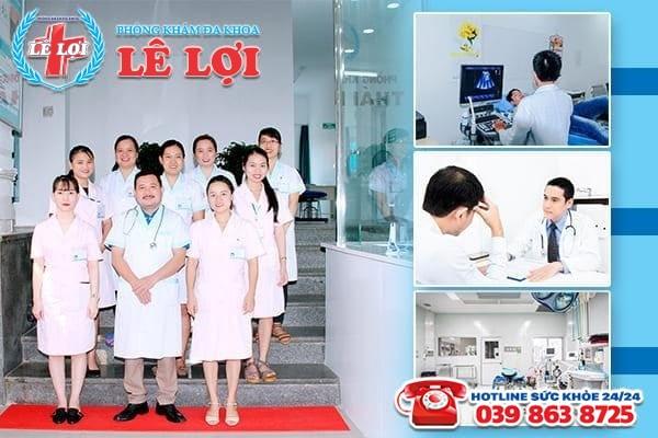Đa Khoa Lê Lợi - địa chỉ chữa yếu sinh lý uy tín tại Nghệ An
