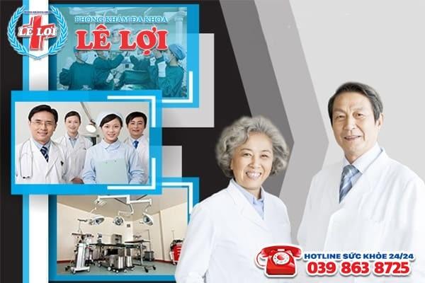 Chữa bệnh viêm tinh hoàn tại Đa Khoa Lê Lợi với bác sĩ chuyên khoa giỏi