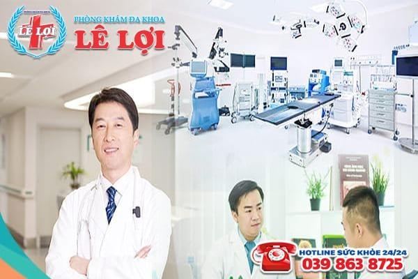 Đa Khoa Lê Lợi - địa chỉ chữa viêm tinh hoàn uy tín tại Vinh
