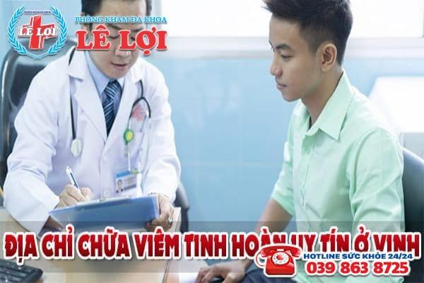Địa chỉ chữa viêm tinh hoàn uy tín ở Vinh
