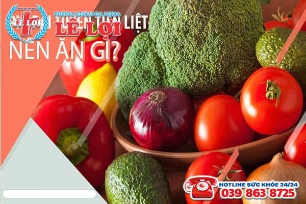 Người bị phì đại tuyến tiền liệt nên ăn gì?