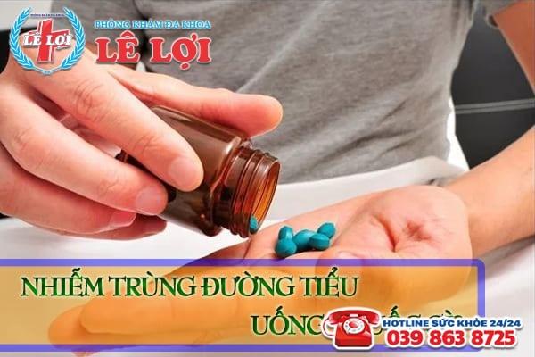 Nhiễm trùng đường tiểu uống thuốc gì tốt nhất?