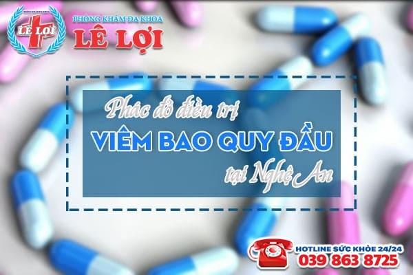 Phác đồ điều trị viêm bao quy đầu tại Nghệ An