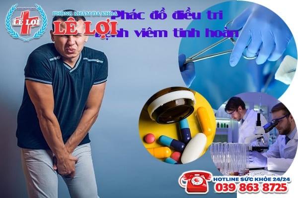 Phác đồ điều trị viêm tinh hoàn hiệu quả